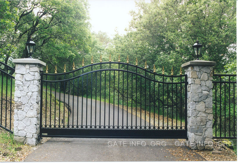 Photos Of Ornamental Iron Driveway Gates