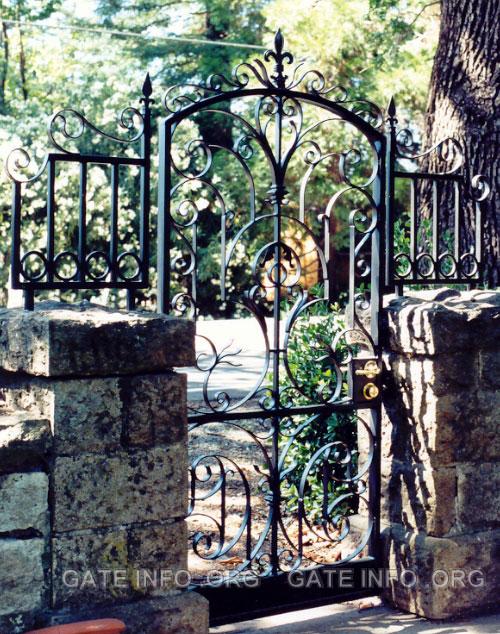 Ornamental Wrought Iron Garden Gates Photos