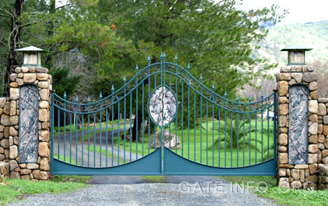 Driveway Gate Diagrams Plans Photos And Information Center